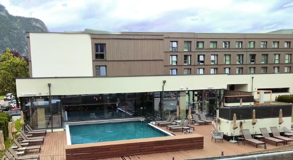 Wellnessbereich im 4 Sterne Hotel nebenan